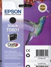 Eredeti Epson T0801 fekete patron