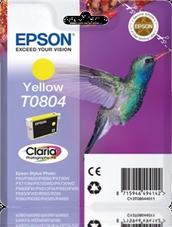 Eredeti Epson T0804 sárga patron