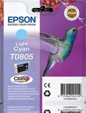 Eredeti Epson T0805 világos ciánkék patron