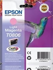 Eredeti Epson T0806 világos magenta patron