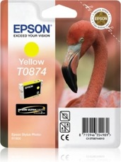 Eredeti Epson T0874 sárga patron