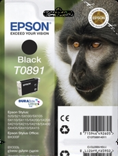 Eredeti Epson T0891 fekete patron