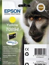 Eredeti Epson T0894 sárga patron