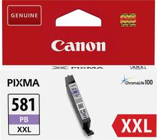 Eredeti Canon CLI-581PB XXL foto-kék patron (extra nagy kapacitású)