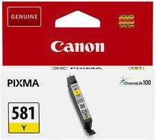 Eredeti Canon CLI-581Y sárga patron