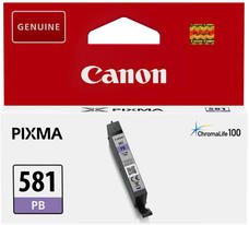 Eredeti Canon CLI-581PB foto-kék patron