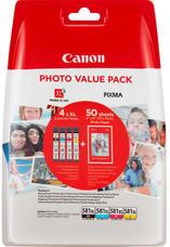 Eredeti Canon CLI-581 XL multipack (nagy kapacitású)