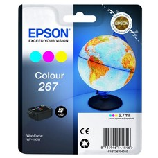 Eredeti Epson 267 színes tintapatron (C13T26614010)
