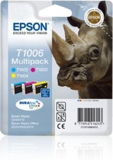 Eredeti Epson T1006 multipack (három színű)
