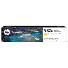 Eredeti HP 982X PageWide nagy kapacitású sárga patron (T0B29A)