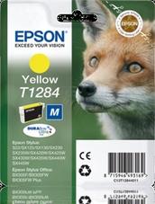 Eredeti Epson T1284 sárga patron