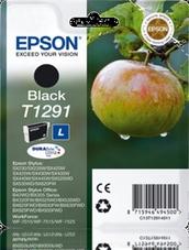 Eredeti Epson T1291 fekete patron