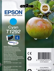 Eredeti Epson T1292 ciánkék patron