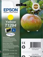 Eredeti Epson T1294 sárga patron