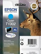 Eredeti Epson T1302 ciánkék patron
