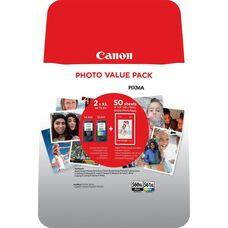 Eredeti Canon PG-560XL/CL561XL fekete, színes patron