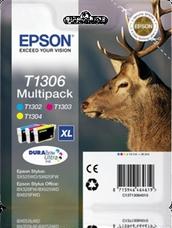 Eredeti Epson T1306 multipack (három színű)