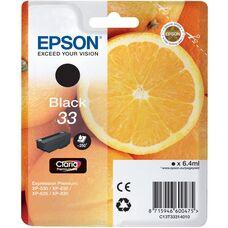 Eredeti Epson 33 fekete patron
