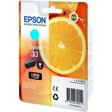 Eredeti Epson 33 ciánkék patron