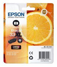 Eredeti Epson 33XL nagy kapacitású fotó fekete patron