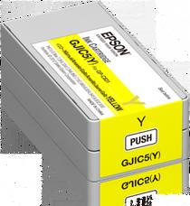 Eredeti Epson GJIC5(Y) sárga patron