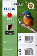 Eredeti Epson T1597 piros patron