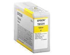 Eredeti Epson T8504 sárga patron