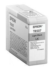 Eredeti Epson T8507 világos fekete patron