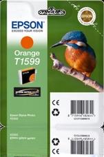 Eredeti Epson T1599 narancssárga patron