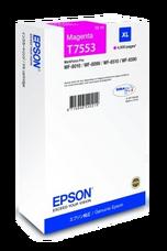 Eredeti Epson T7553 nagy kapacitású magenta patron