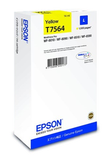 Eredeti Epson T7564 sárga patron