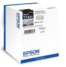Eredeti Epson T7431 fekete patron