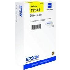 Eredeti Epson T7544 extra nagy kapacitású sárga patron