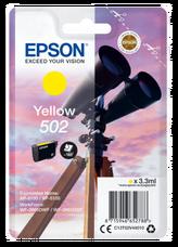 Eredeti Epson 502 sárga patron