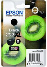 Eredeti Epson 202XL nagy kapacitású fekete patron