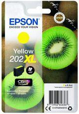 Eredeti Epson 202XL nagy kapacitású sárga patron