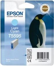Eredeti Epson T559 világos-ciánkék patron