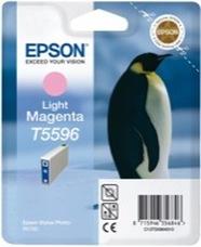 Eredeti Epson T559 világos-magenta patron