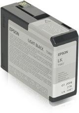 Eredeti Epson T580 szürke patron