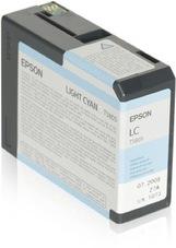 Eredeti Epson T580 világos-ciánkék patron