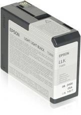 Eredeti Epson T580 világos-szürke patron