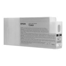 Eredeti Epson T596 világos-szürke patron