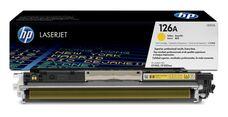 Eredeti HP 126A sárga toner (CE312A)