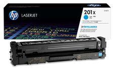 Eredeti HP 201X nagy kapacitású ciánkék toner (CF401X)