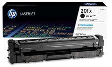 Eredeti HP 201X nagy kapacitású fekete toner (CF400X)