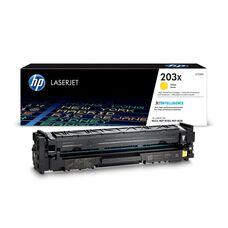 Eredeti HP 203X nagy kapacitású sárga toner (CF542X)