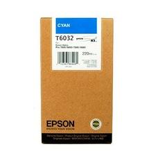 Eredeti Epson T603 ciánkék patron